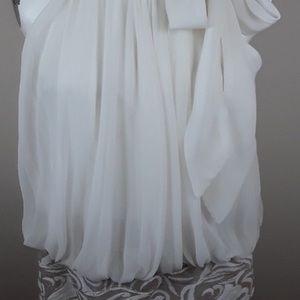 Cache blouson dress